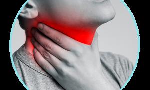 Боль в ушах при глотании и неприятные ощущение в горле – причины и лечение