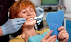 Протезирование после резекции половины нижней челюсти и полном отсутствии зубов на обеих челюстях