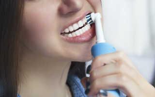 Как правильно чистить зубы электрической щеткой, правильная чистка, видео