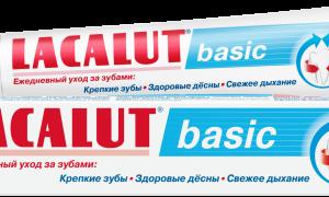 Зубная паста Лакалют: обзор популярных серий и отзывы