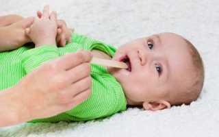 Белый налет во рту грудничка – причины появления и лечение