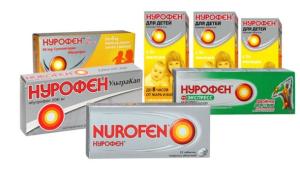 Нурофен при прорезывании зубов и от зубной боли: для детей и взрослых