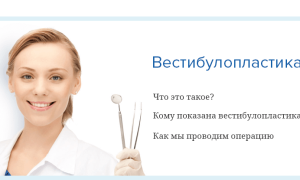 Вестибулопластика: операция по Кларку, Эдлану Мейхеру, Шмидту, лазерная, тунельная
